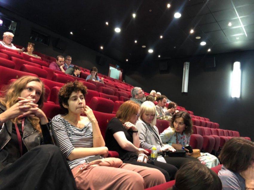 На Московском еврейском кинофестивале прошла встреча с режиссером фильма «В прах»
