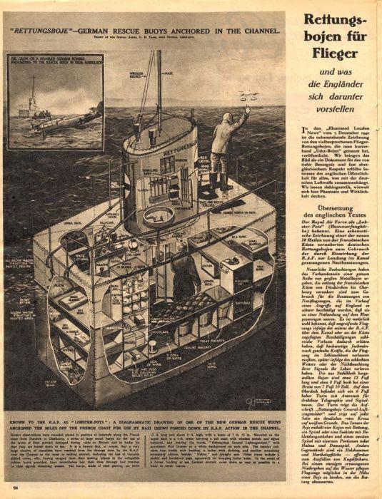 Зачем немцы ставили в Ла-Манше гигантские буи с красными крестами?