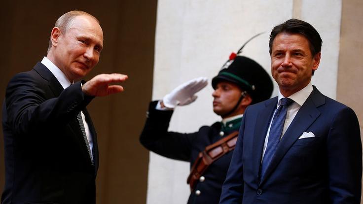 Путин в Италии