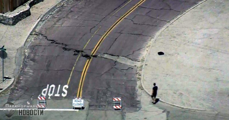 Недавние мощные землетрясения «подарили» Калифорнии целую сеть новых опасных разломов - Paranormal-news.ru