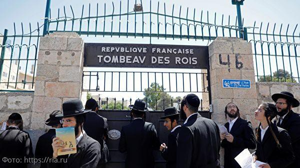 Израильтяне нарушили права французской собственности