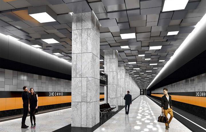 Карта нового метро Москвы 2020 на карте