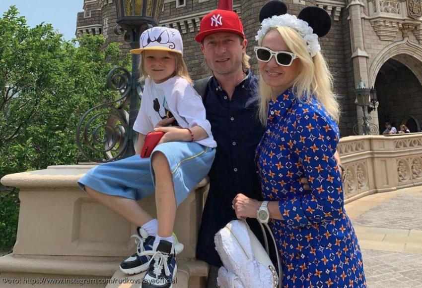 6-летний сын Рудковской и Плющенко влюбился в фигуристку-ровесницу