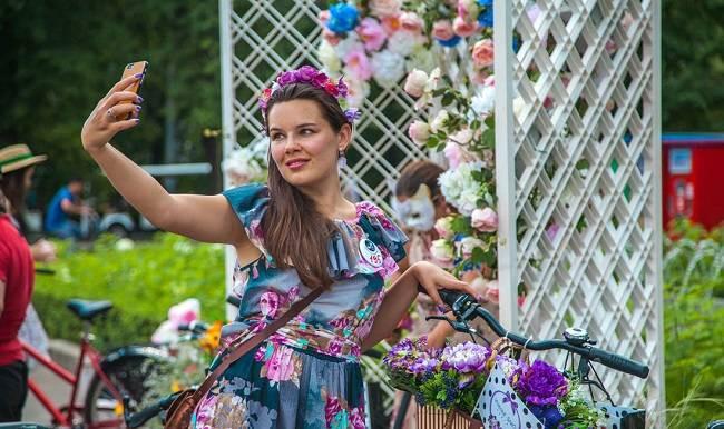 В Сокольниках 25 августа 2019 года пройдет очередной тематический заезд «Леди на велосипеде»