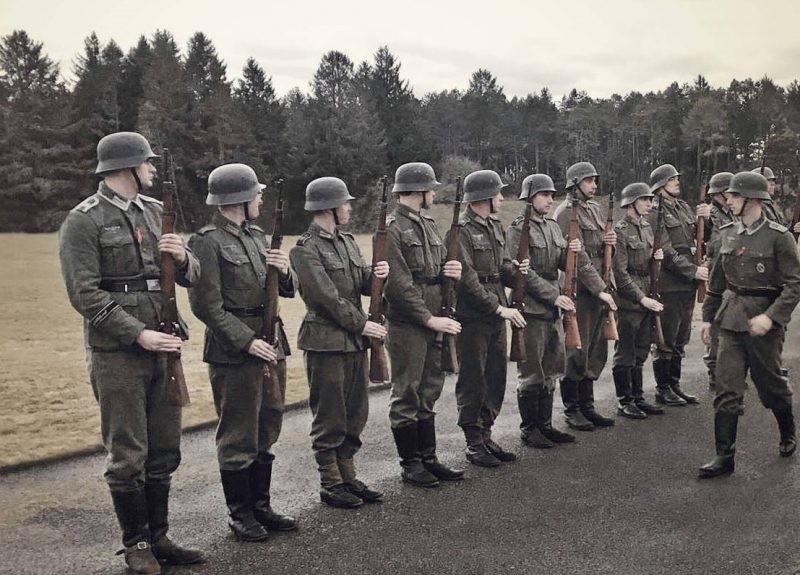 Секретные методы обучения солдат элитных частей Вермахта