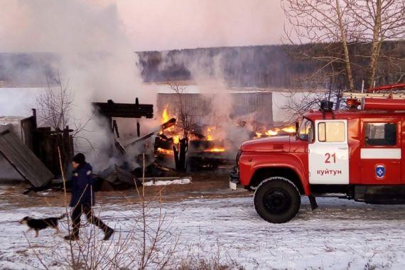 В Иркутской области при пожаре погибли отец и двое малолетних детей