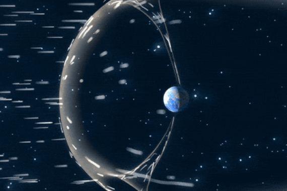 На Северном полюсе Земли обнаружен странный феномен