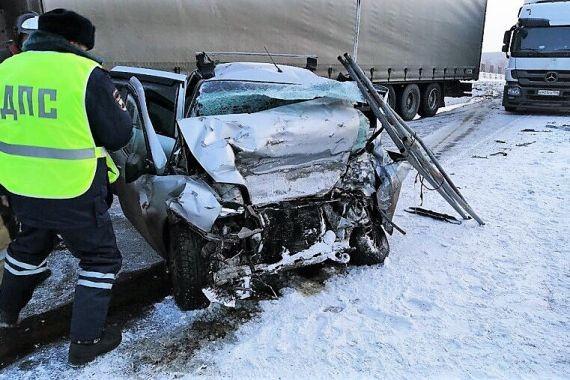 В Красноярском Крае в двух ДТП погибли 8 человек