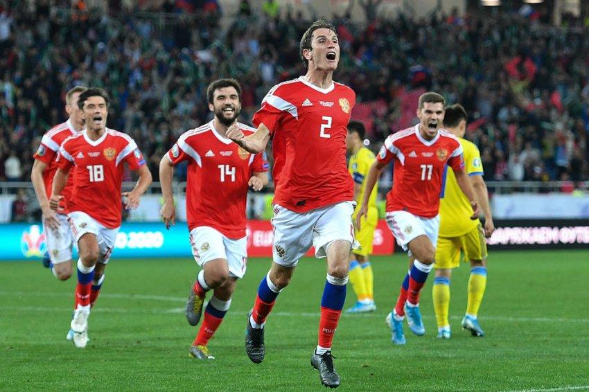 Россия в рейтинге «ФИФА» 2019 года поднялась на несколько позиций