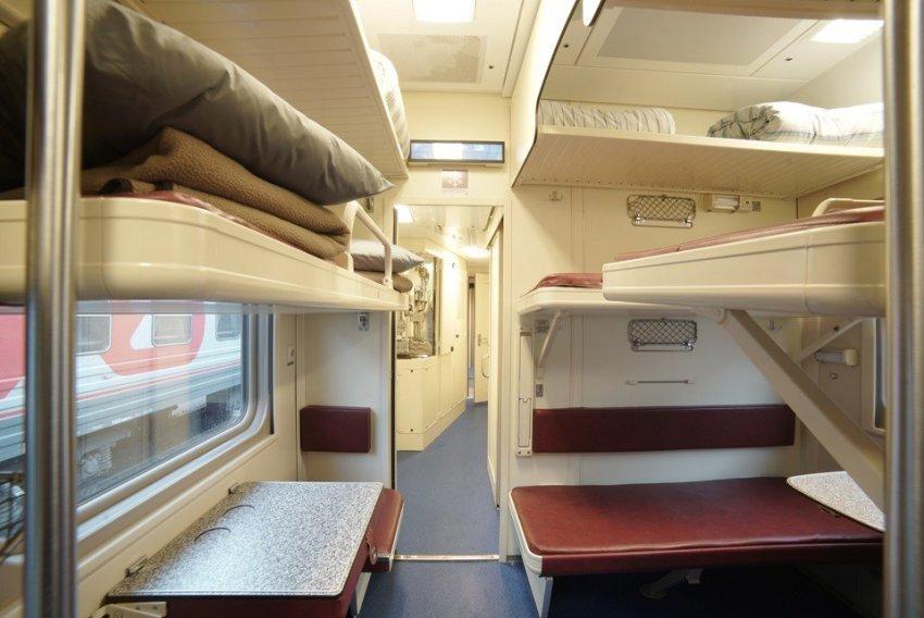 В Крым с комфортом: в Сети появились первые фото вагонов поезда