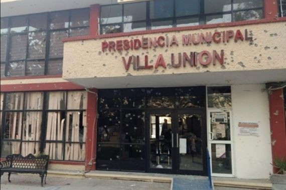В Мексике члены наркокартеля атаковали муниципалитет. Есть погибшие и раненые