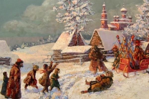 13 января отмечается праздник Васильева коляда