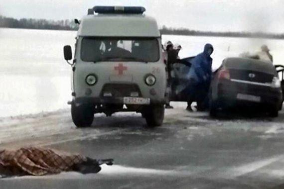 Под Ульяновском столкнулись несколько автомобилей. Есть погибшие и пострадавшие