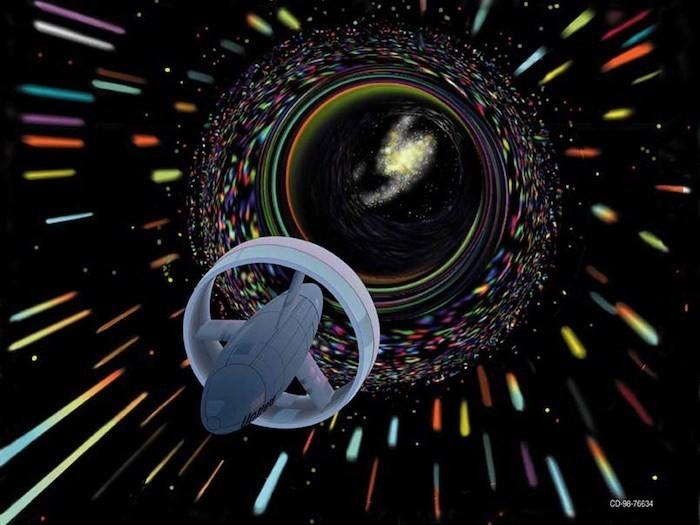Белые дыры открывают возможность путешествий во времени