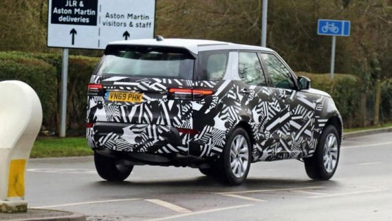 Гибридный Land Rover Discovery проходит тестирование