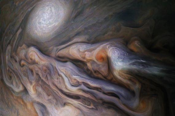 NASA опубликовала детальный снимок Юпитера