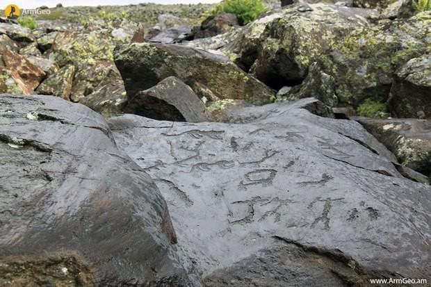 Тайны петроглифов древней Армении