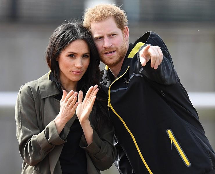 Пока Меган Маркл с ребенком находится в Канаде, принц Гарри встретился со своей бывшей возлюбленной