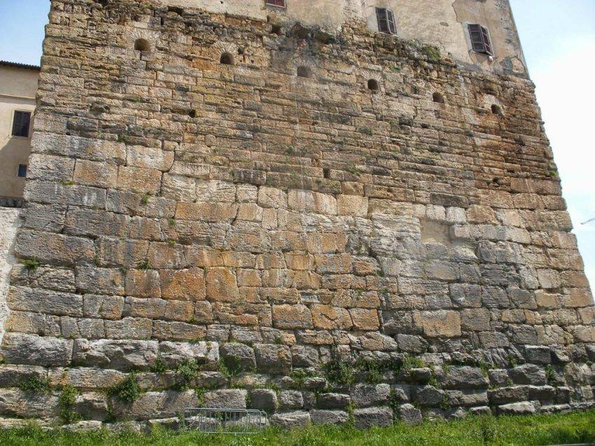 Послепотопные римские дороги