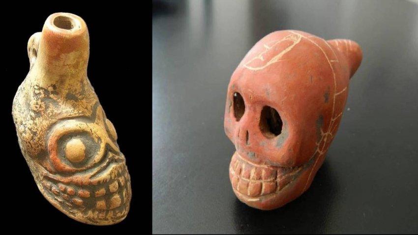 В Мексике обнаружили ацтекский свисток смерти: вот как он звучит