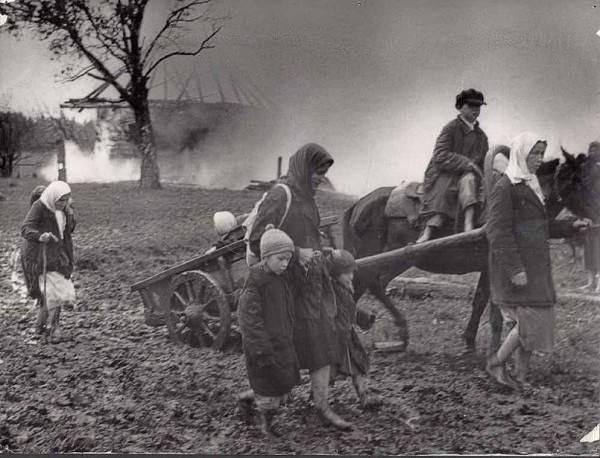 Зверские прибалтийские преступления на Северо-Западе России 1941–1944 гг