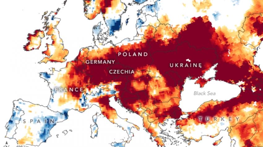 В Европе в ближайшее время может закончиться питьевая вода