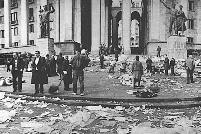 История протестов в странах СНГ