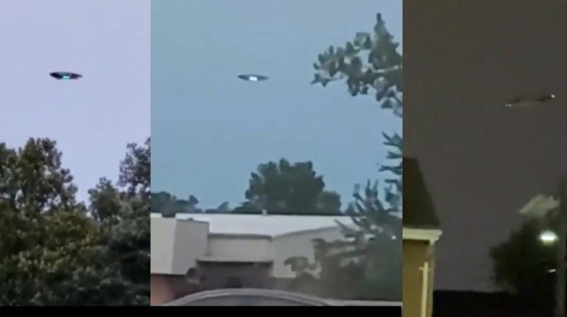 Американцы увидели в небе НЛО и подумали, что началось вторжение инопланетян