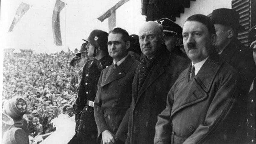 Гитлер во время войны посещал СССР!