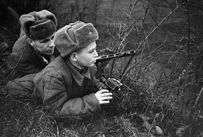 Дети ставшие героями во Второй Мировой Войне