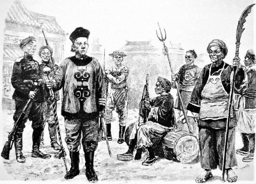 Русский офицер о боевых исскуствах Китая ХIX века
