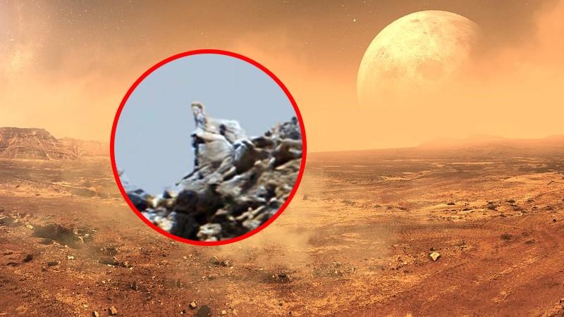 На Марсе обнаружили статуи, напоминающие египетских сфинксов