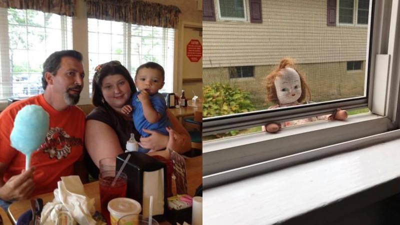 Девушка выкинула на помойку старинную куклу, а через время она вернулась обратно