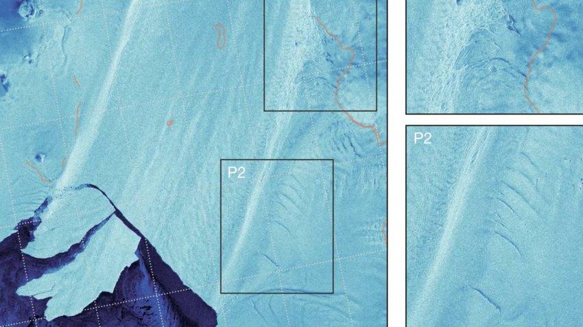 Два важнейших ледника Антарктиды разрушаются: ученые заметили многочисленные трещины и разломы