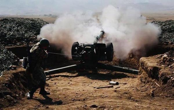 В Карабахе заявили о новой бомбардировке города Мартуни