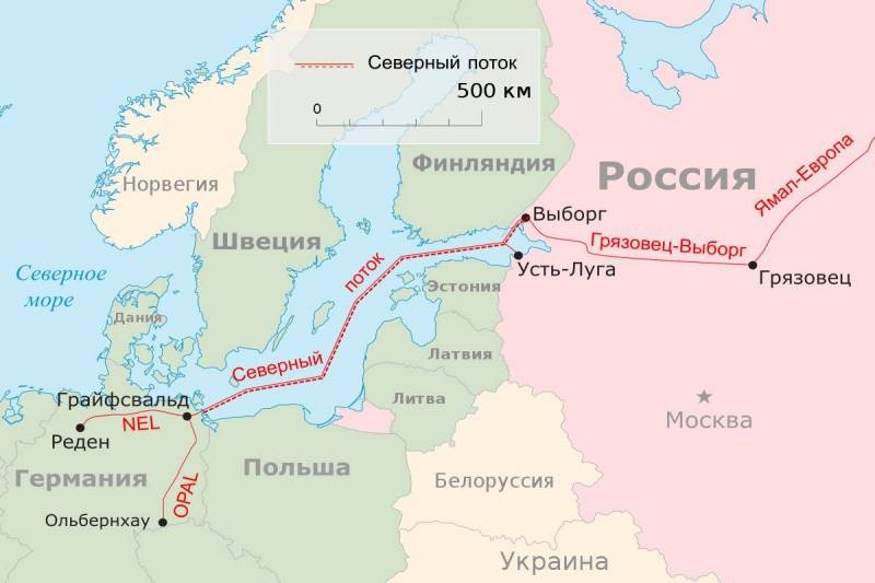 Осталось достроить последние километры газопровода «Северный поток — 2»