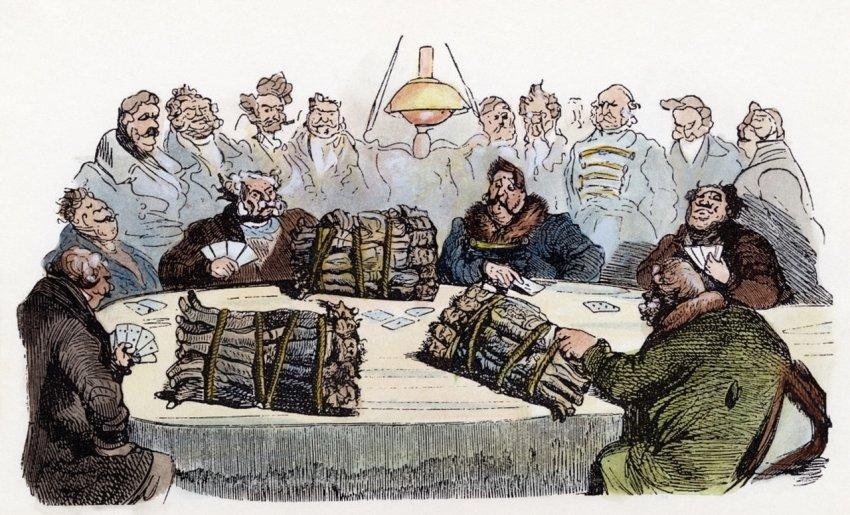 Как люди проводили свой досуг в 18-19 веке?