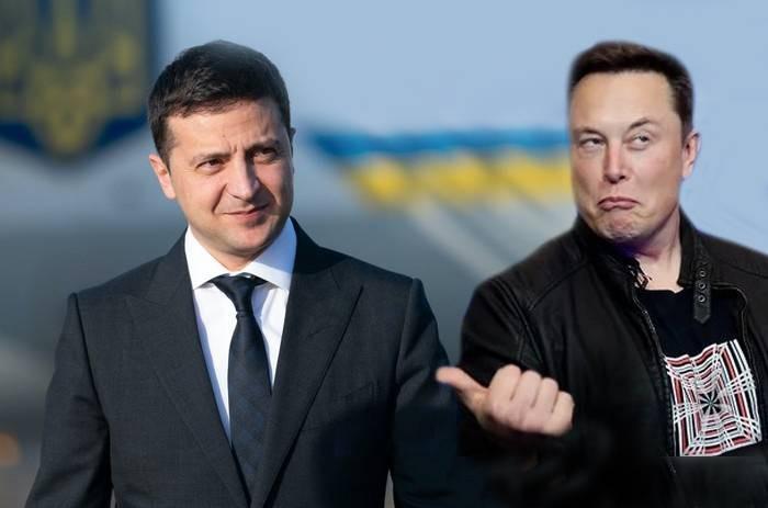 Президент Украины Владимир Зеленский пригласил Илона Маска в Житомир