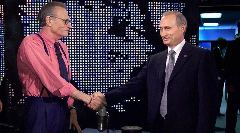 Путин выразил соболезнования по поводу смерти журналиста Ларри Кинга