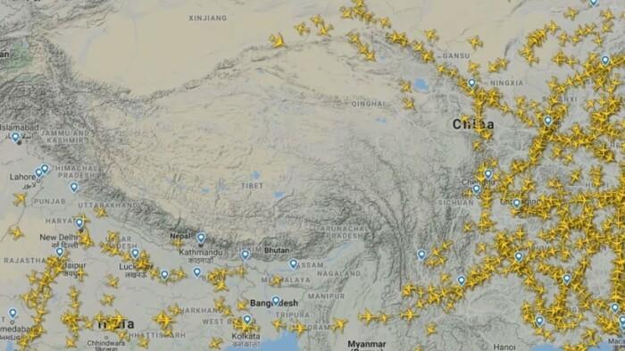 Почему над Тибетом не летают самолёты