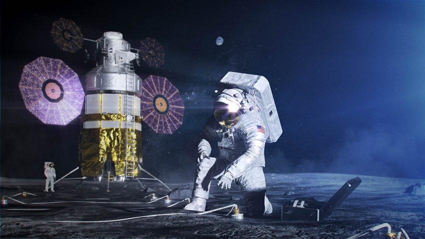 Навстречу звездам и Луне на «Ангаре»
