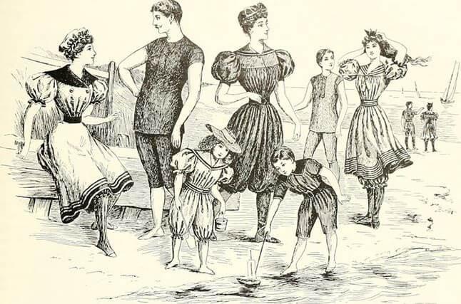 Купальник: история обнажения