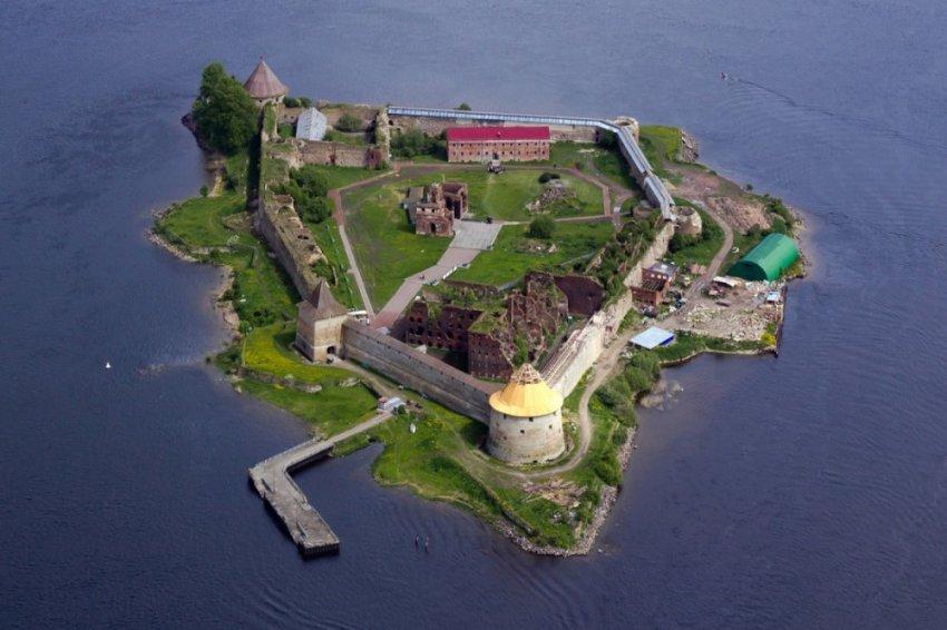 История Шлиссельбургской крепости