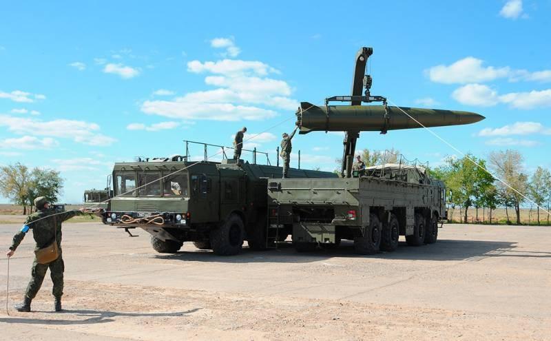 В Сирии провели испытание тактического ракетного комплекса «Искандер-М»
