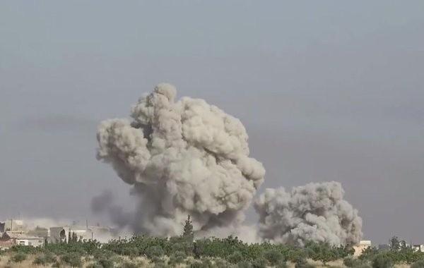 Российские военные уничтожили центр сирийских террористов ударом с воздуха