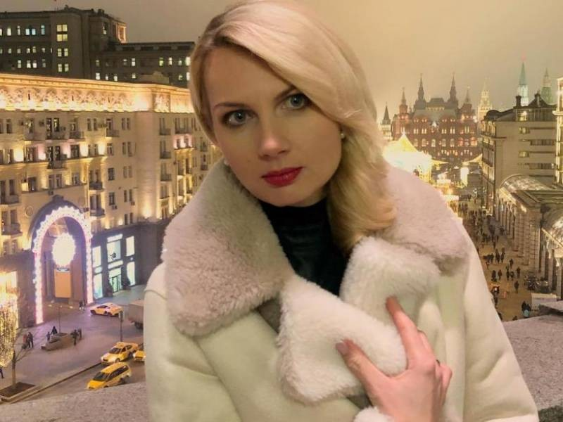 Ведущая шоу «Время покажет» Олеся Лосева на немецком языке успокоила гостей студии