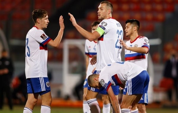 Сборная России по футболу обыграла Мальту