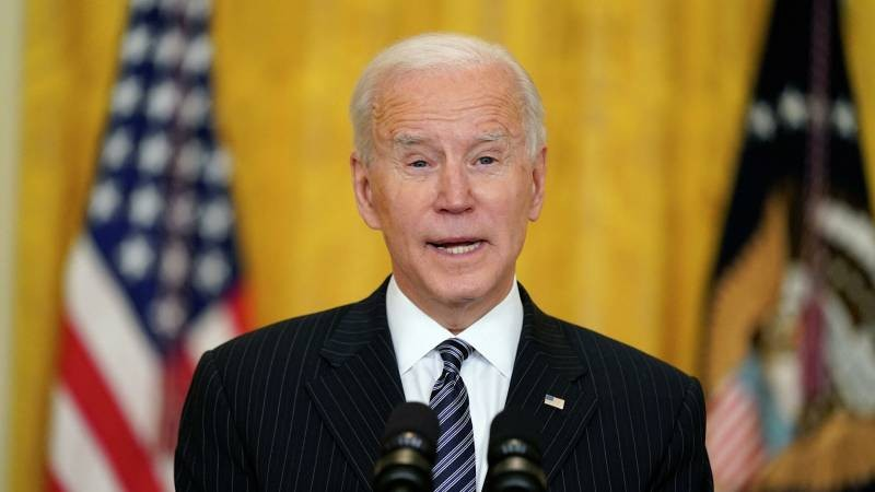 Первую пресс-конференцию в роли президента Джо Байден проведет 25 марта 2021 года