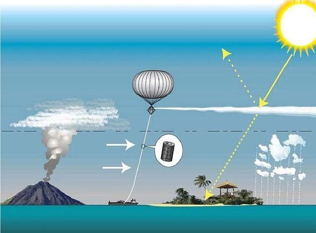 Зачем Билл Гейтс хочет распылить в атмосфере земли мел