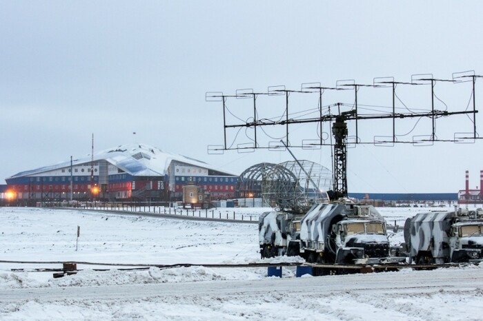 Русская военная арктическая база, которой не довольны США